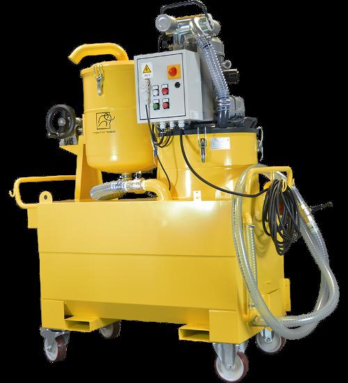 Odkurzacz przemysłowy do wiórów i oleju MEKA 400 IF