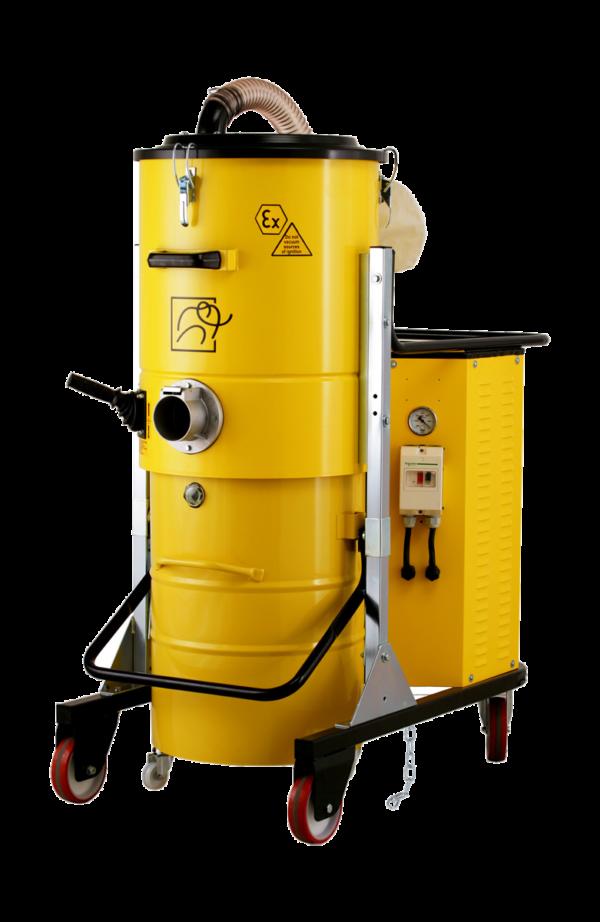Odkurzacz przemysłowy z certyfikacją ATEX 22 TS 400 PN Z22