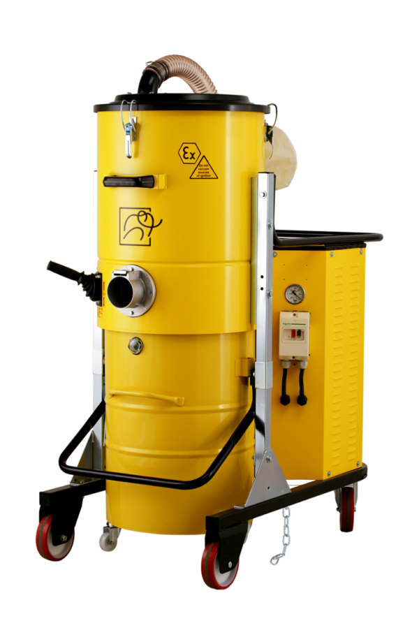 Odkurzacz przemysłowy z certyfikacją ATEX 22 TS 750 PN Z22